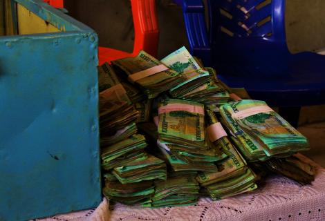 Cash saved by the Women in Samaleng Cooperative that is shared out
